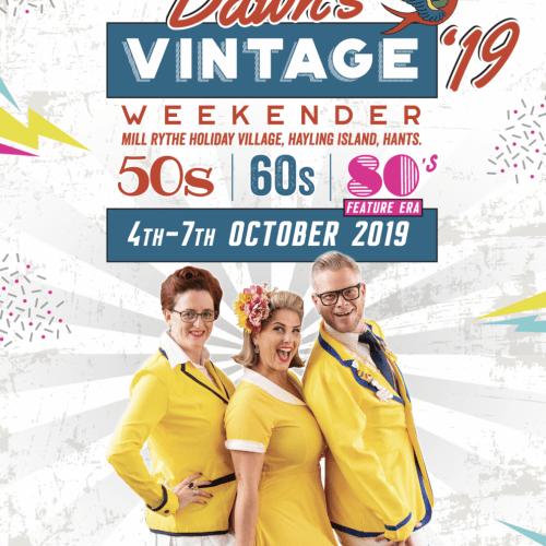 2019 vintage weekender cover
