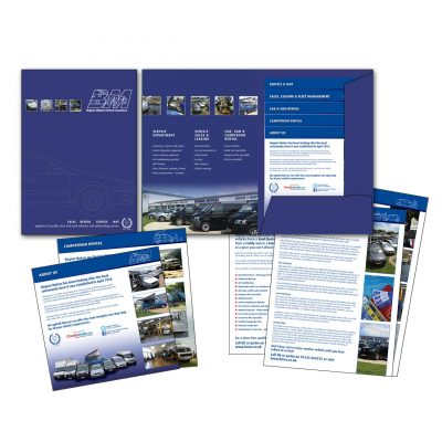 Bognor Motors Presentation Folders