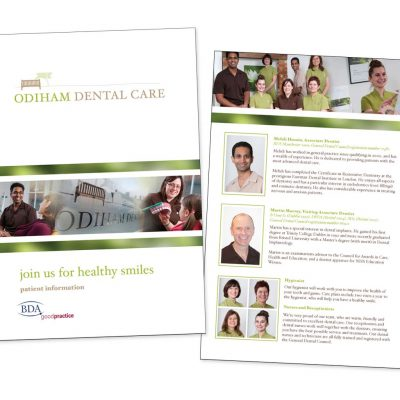 Odiham Dental Brochure