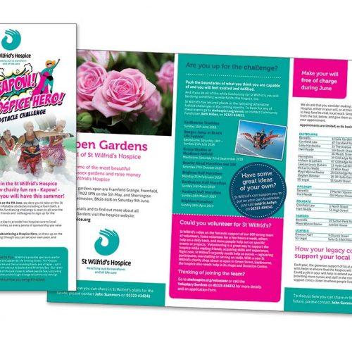 St Wilfrids Hospice Leaflets